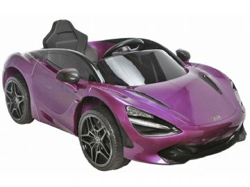 McLaren 720S Purple Licenced 12v Electric Ride on Car with Parental Control